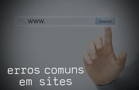 O que não fazer no site - os cinco erros mais comuns