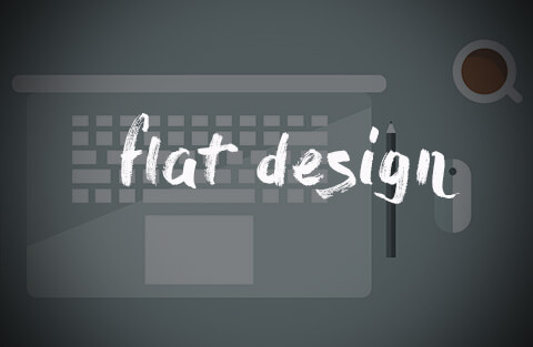 A explosão do flat design