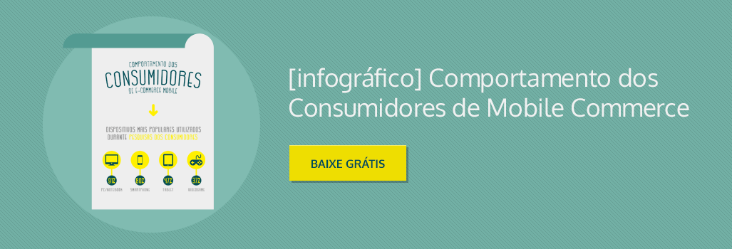 Infográfico Gratuito: Comportamento dos Consumidores de Mobile Commerce