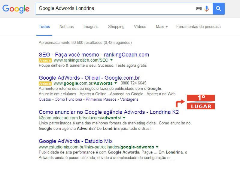Google AdWords Londrina