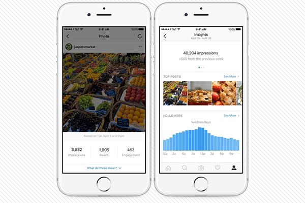 Novas ferramentas para o Instagram Business