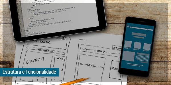Estrutura e funcionalidade para quem quer comprar layout pronto
