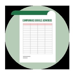 Planilha: Organizando sua Planilha Google AdWords